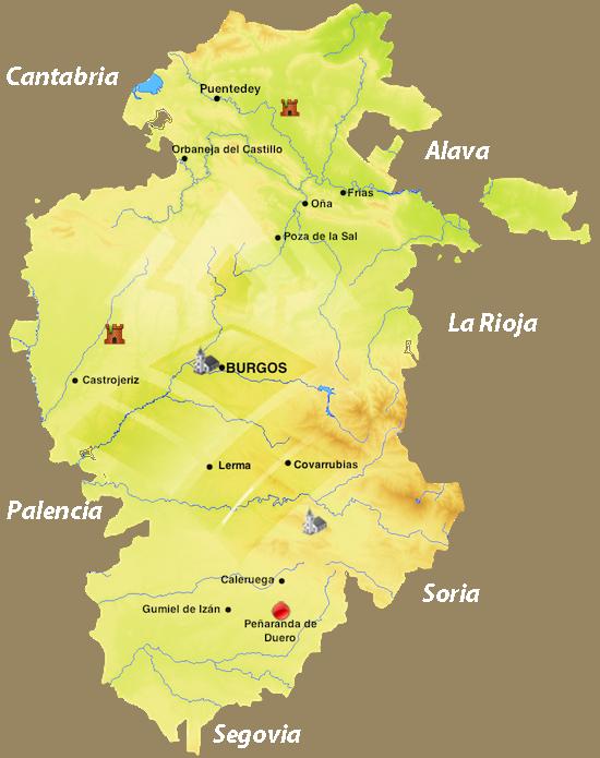 Peñaranda De Duero Mapa.Penaranda De Duero Los Pueblos Mas Bonitos De Espana